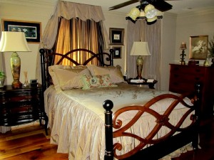 Atlanta interior design master bedroom